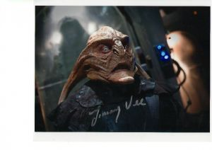 Jimmy Vee Signed 10 x 8 Photograph